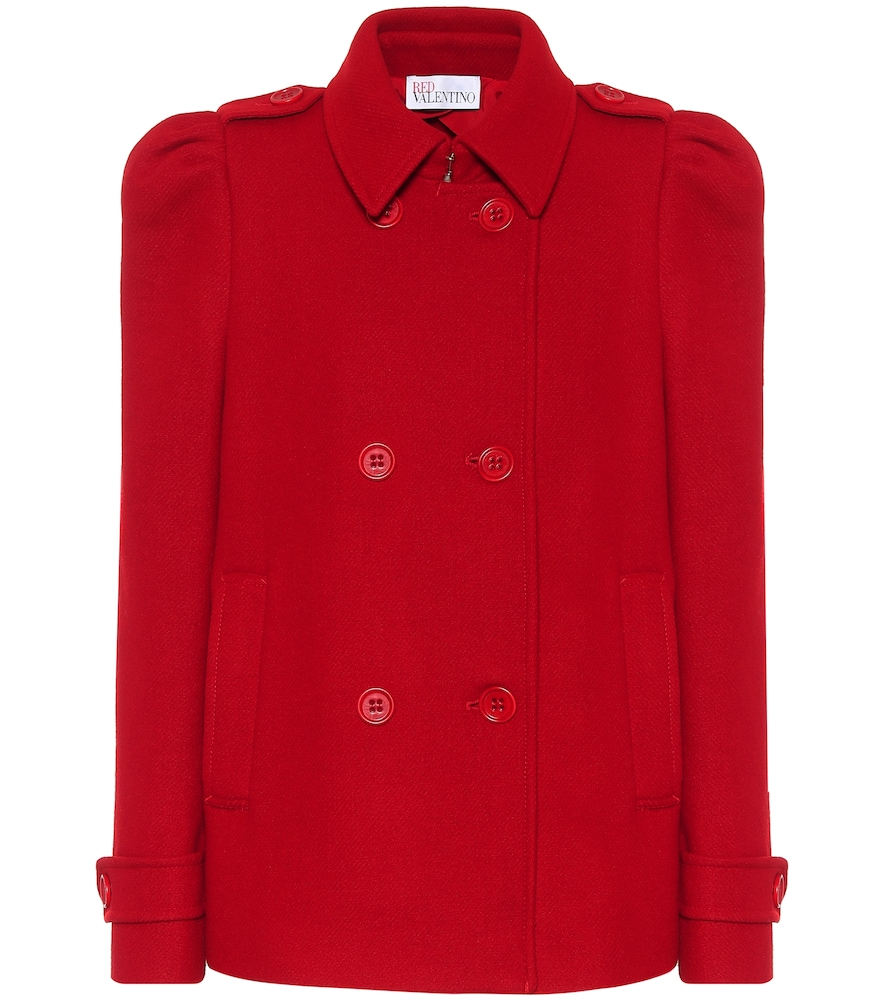 Wool and cashmere-blend jacket by REDValentino