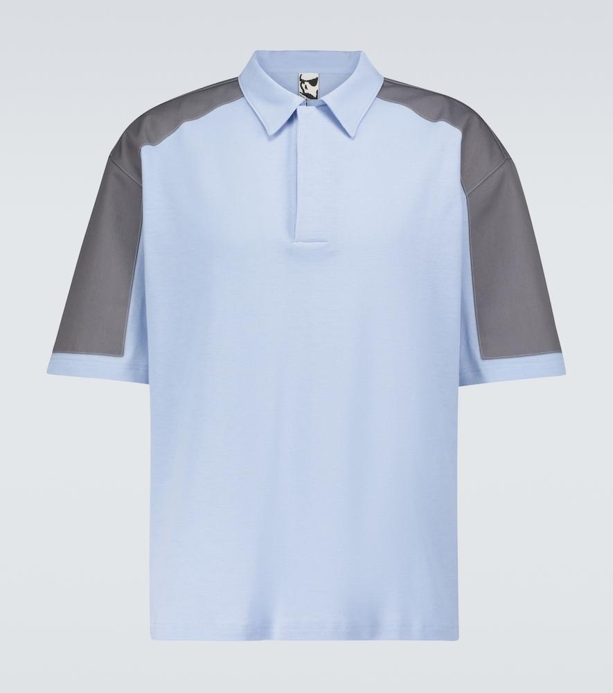 TR Deal shoulder-patch polo shirt