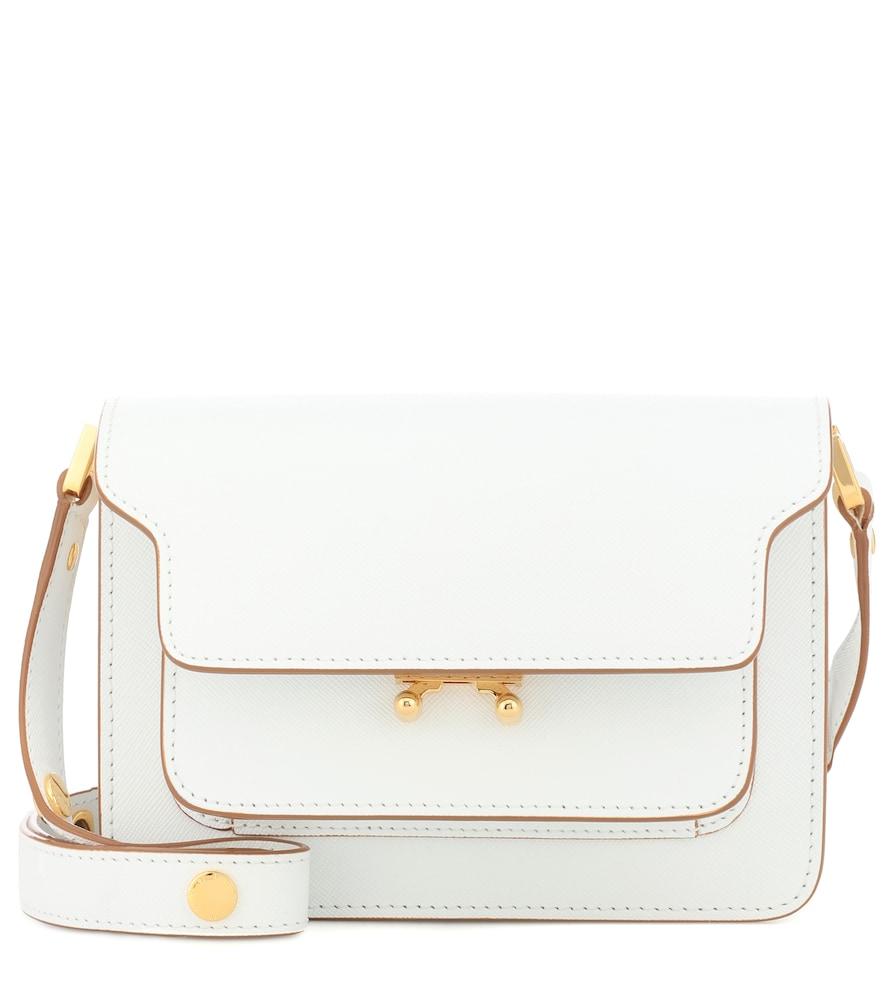 MARNI | Trunk Mini leather shoulder bag | Goxip