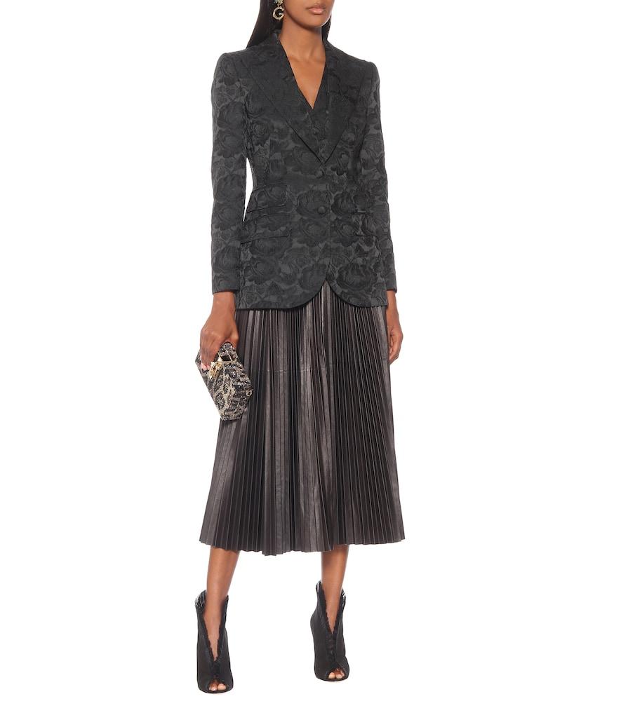 Floral-jacquard blazer by Dolce & Gabbana