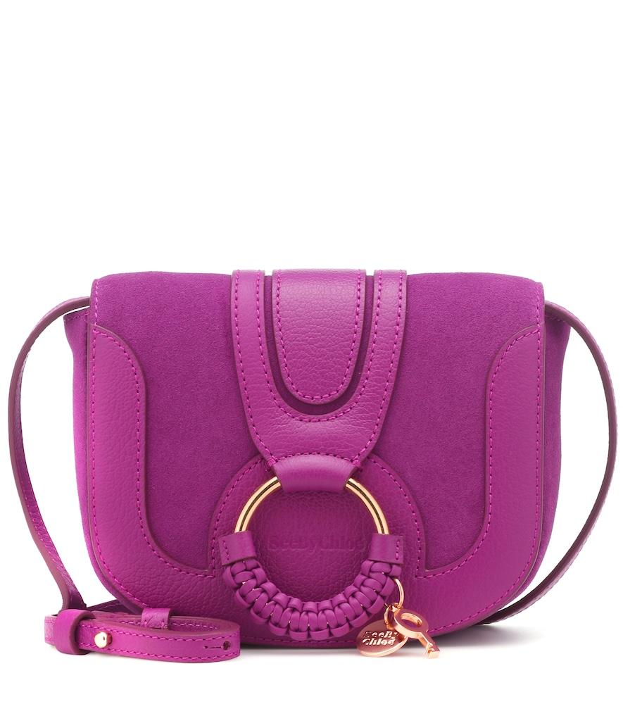 SEE BY CHLOÉ   Hana Mini Leather Shoulder Bag   Goxip