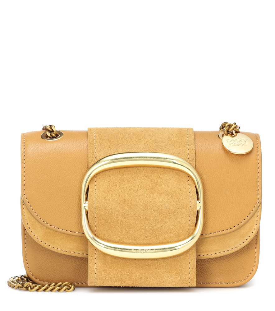 SEE BY CHLOÉ | Hopper Small Leather Shoulder Bag | Goxip