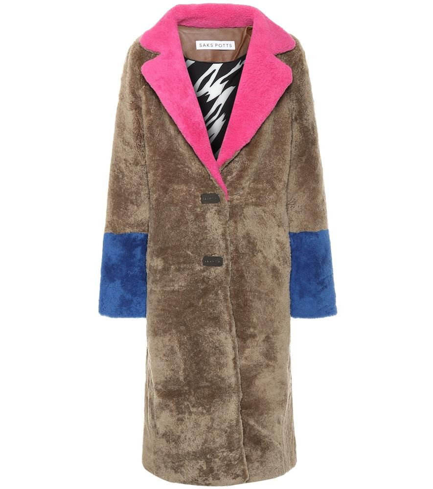 Manteau Febbe en shearling