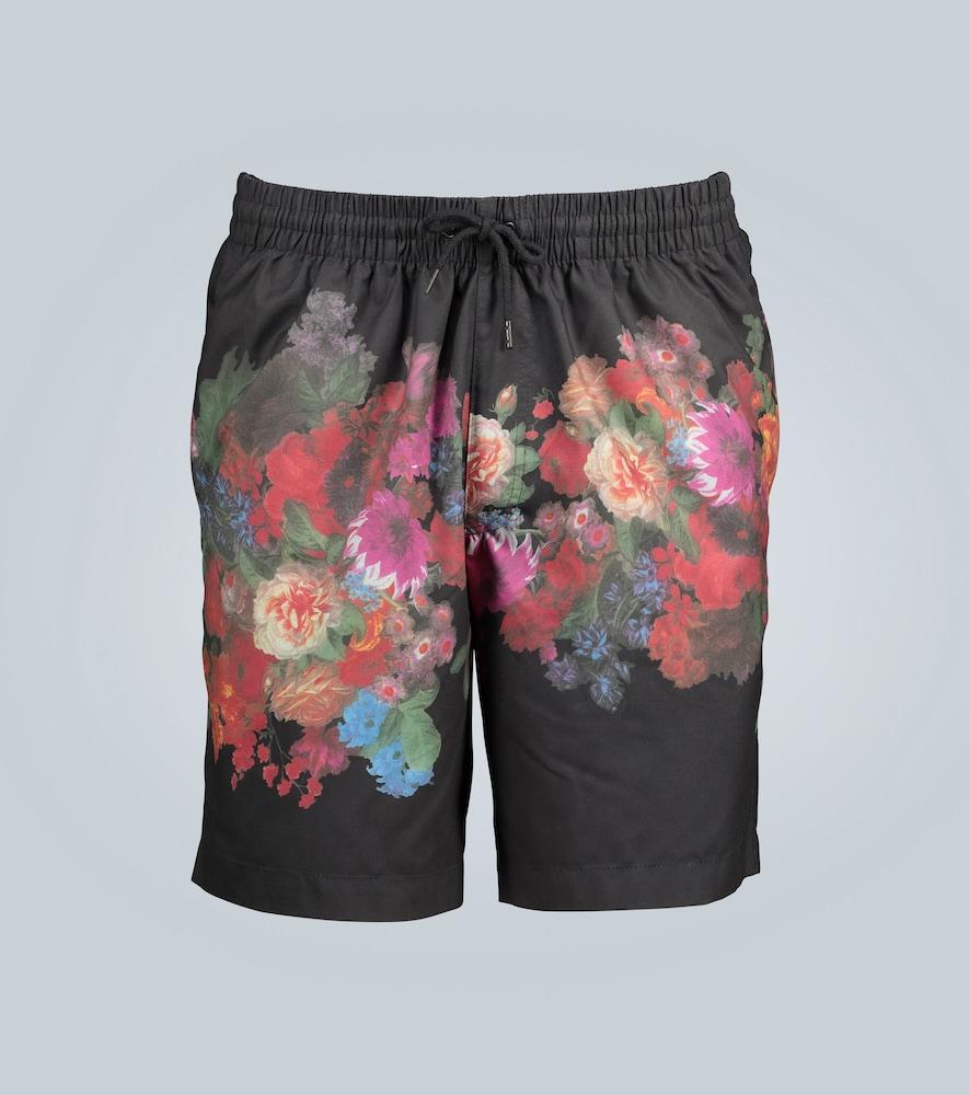 Short de bain à imprimé fleuri - Dries Van Noten - Modalova
