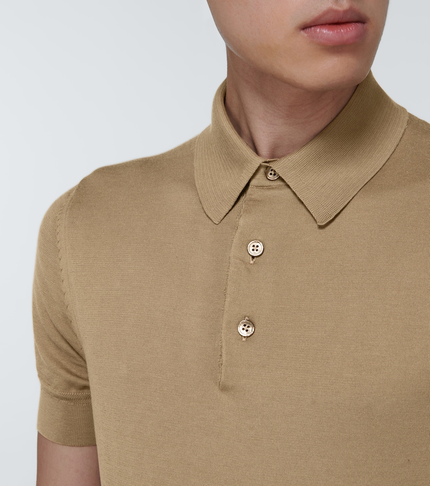 TOM FORD Cottons SHORT-SLEEVED COTTON POLO SHIRT