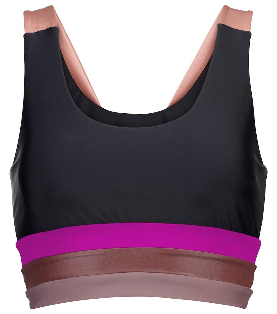 Incline sports bra