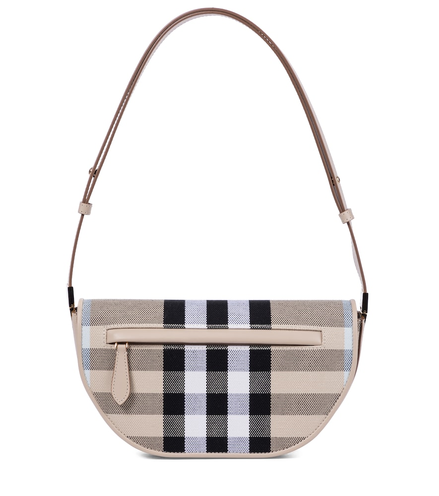 Olympia Small checked shoulder bag