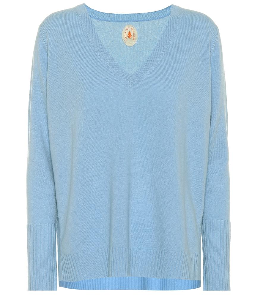 JARDIN DES ORANGERS Cashmere Sweater in Blue