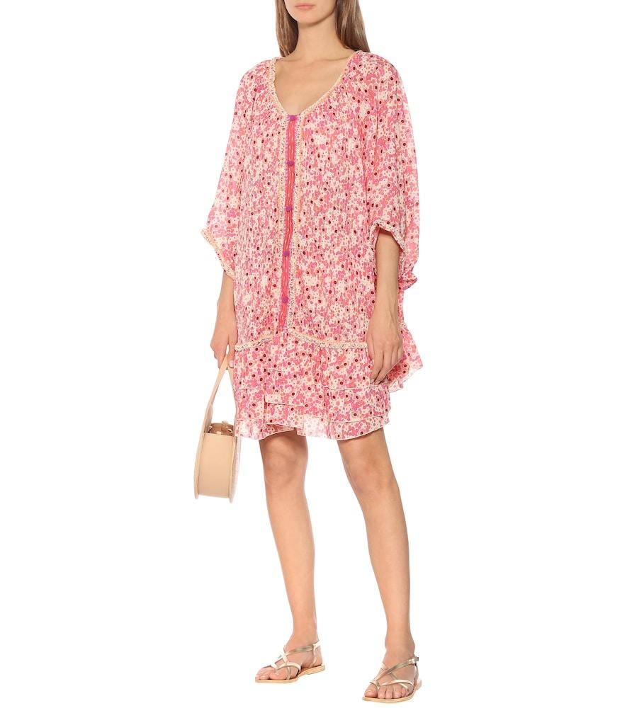 Photo of Bobo floral cotton minidress by Poupette St Barth - shop Poupette St Barth Dresses, Short online