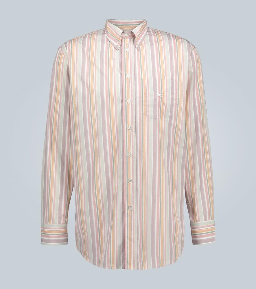 Chemise rayée à manches longues - Etro - Modalova
