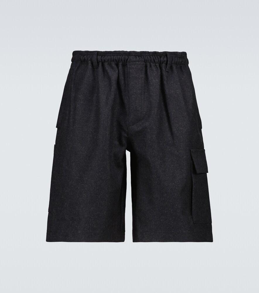 Wool Broodcloth Utility shorts