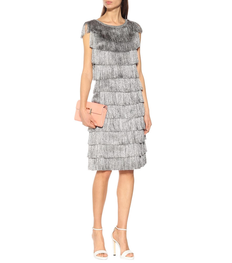 Metallic fringed dress by Missoni
