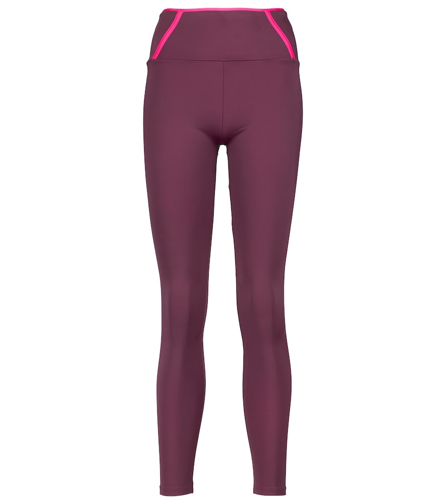 Leap mid-rise leggings