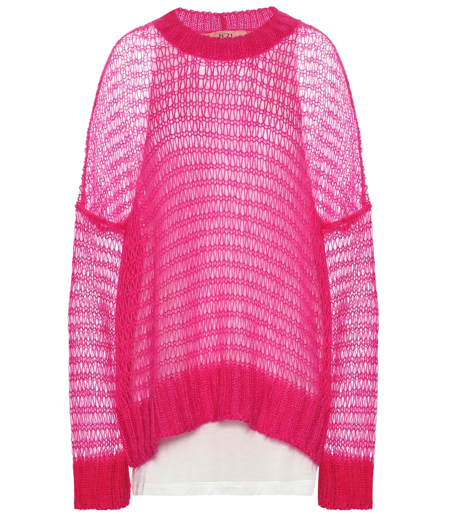N°21 Sweaters Mohair-blend sweater