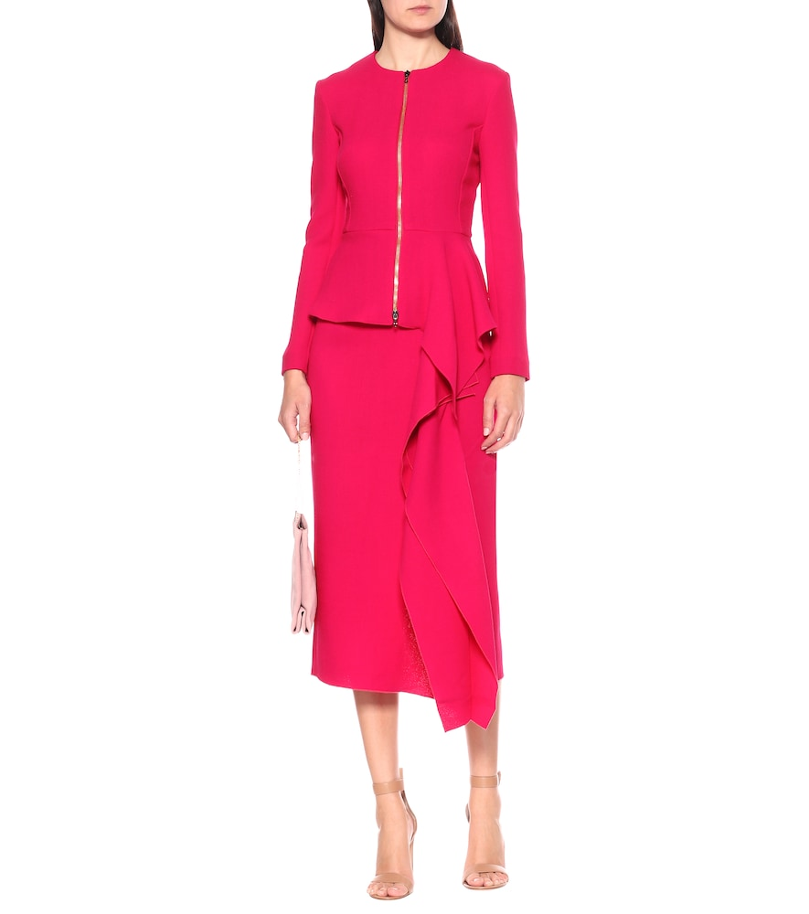 Exclusive to Mytheresa - Delen wool jacket by Roland Mouret