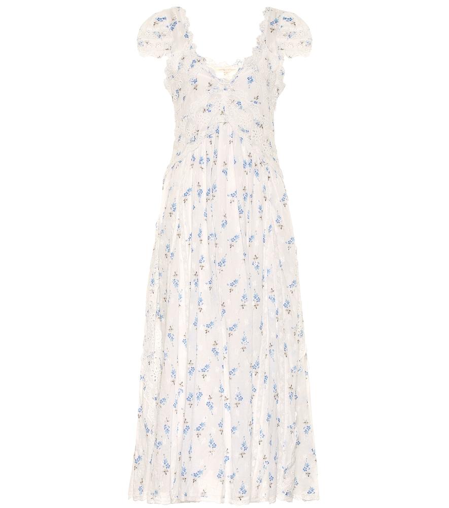 Archer floral cotton dress