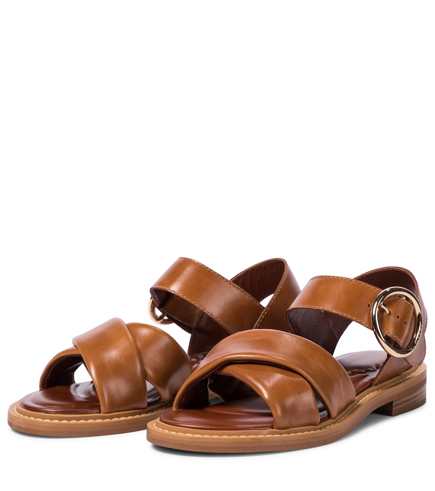 SEE BY CHLOÉ Leathers LEATHER SANDALS