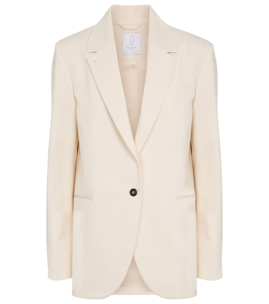 Tylynn cotton blazer