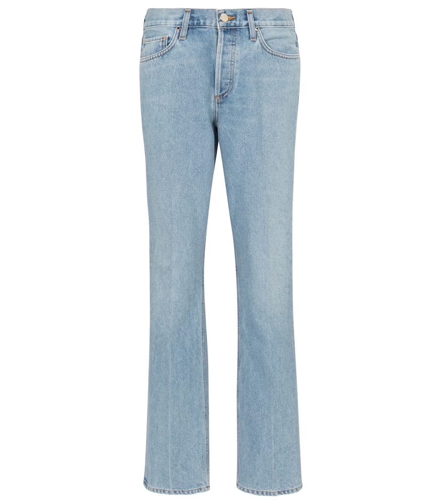 Nineties high-rise bootcut jeans