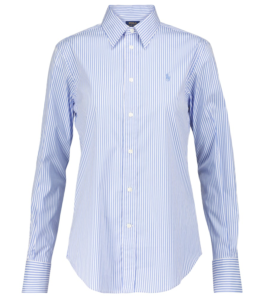 Polo Ralph Lauren STRIPED COTTON-BLEND SHIRT