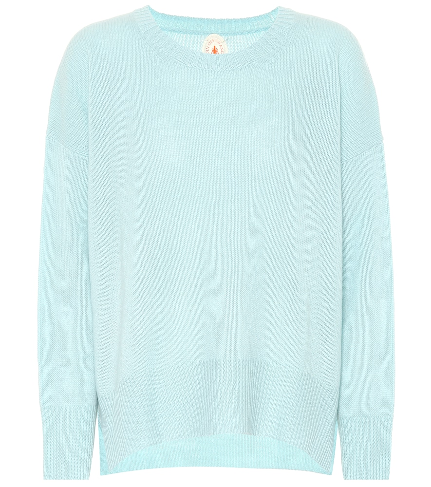 JARDIN DES ORANGERS Exclusive To Mytheresa - Cashmere Sweater in Blue