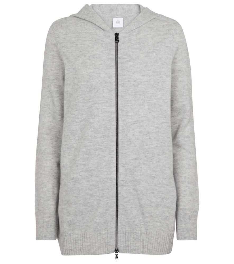 Leony virgin wool hoodie