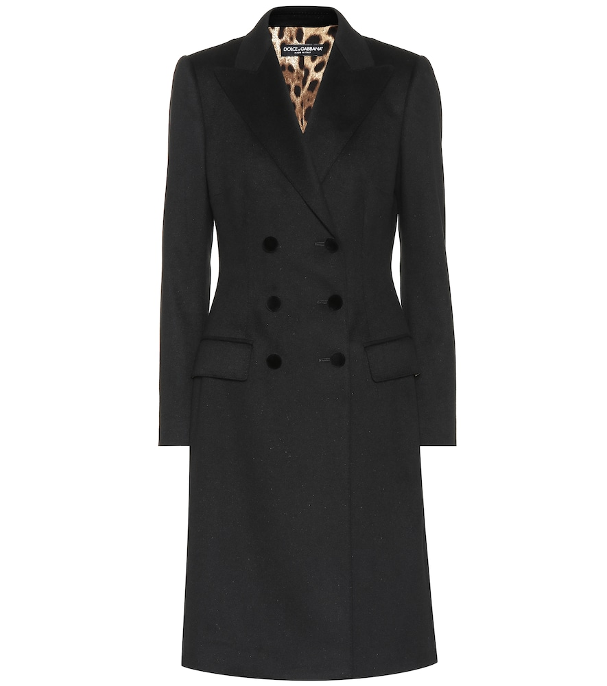 Wool And Cashmere Coat, Black
