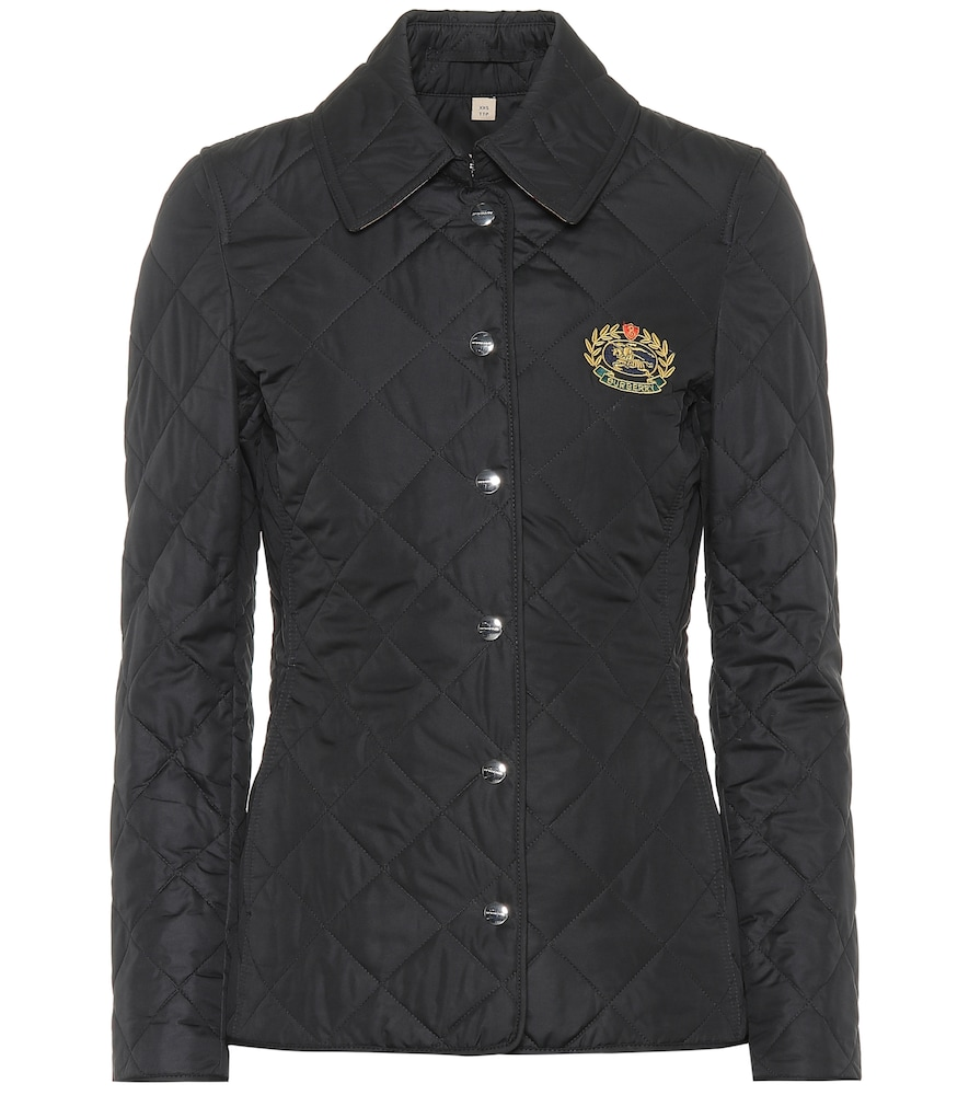 BURBERRY CREST QUILTED JACKET