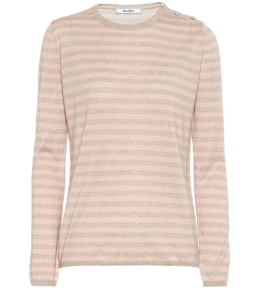 MAX MARA | Berma Silk And Cashmere Sweater | Goxip