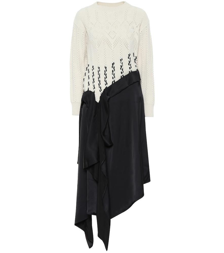 Robe en laine mélangée - Loewe - Modalova