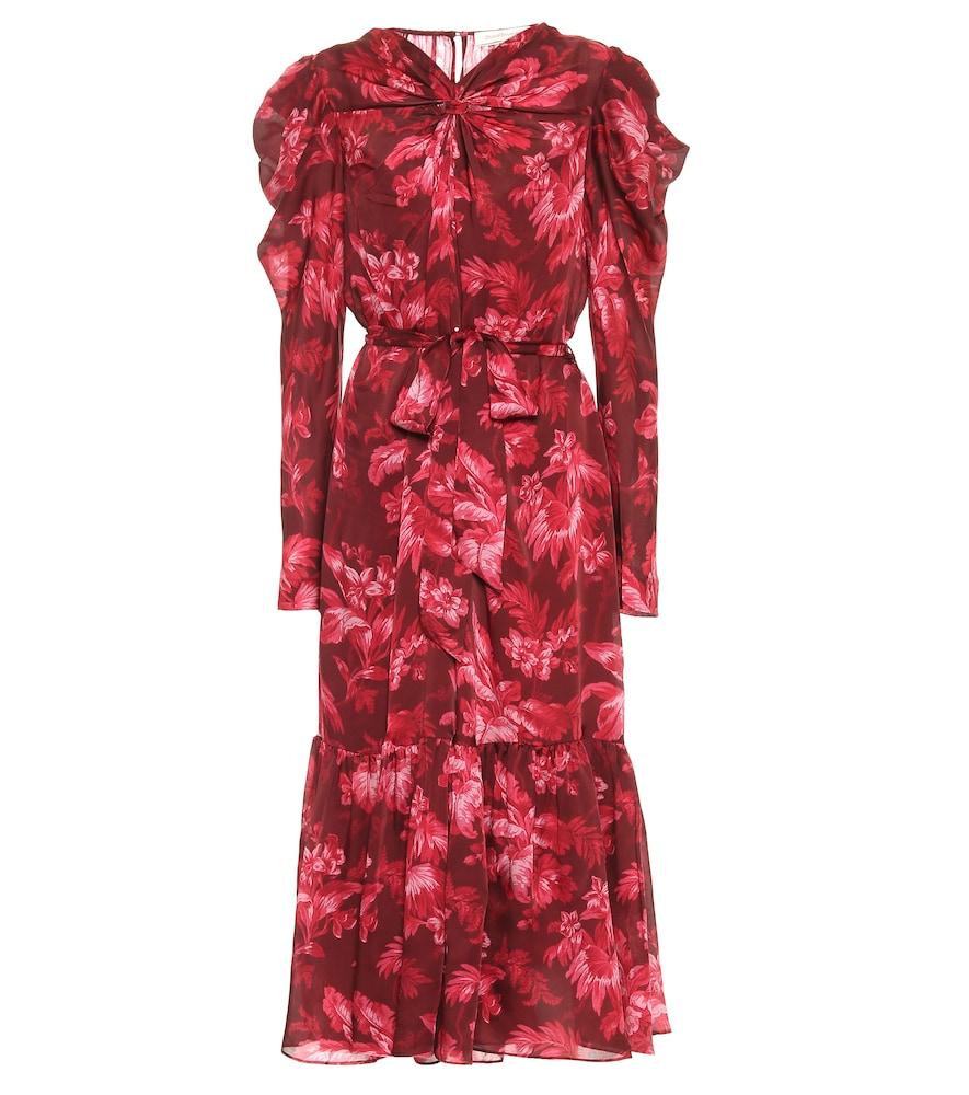 Ladybeetle floral midi dress by Zimmermann