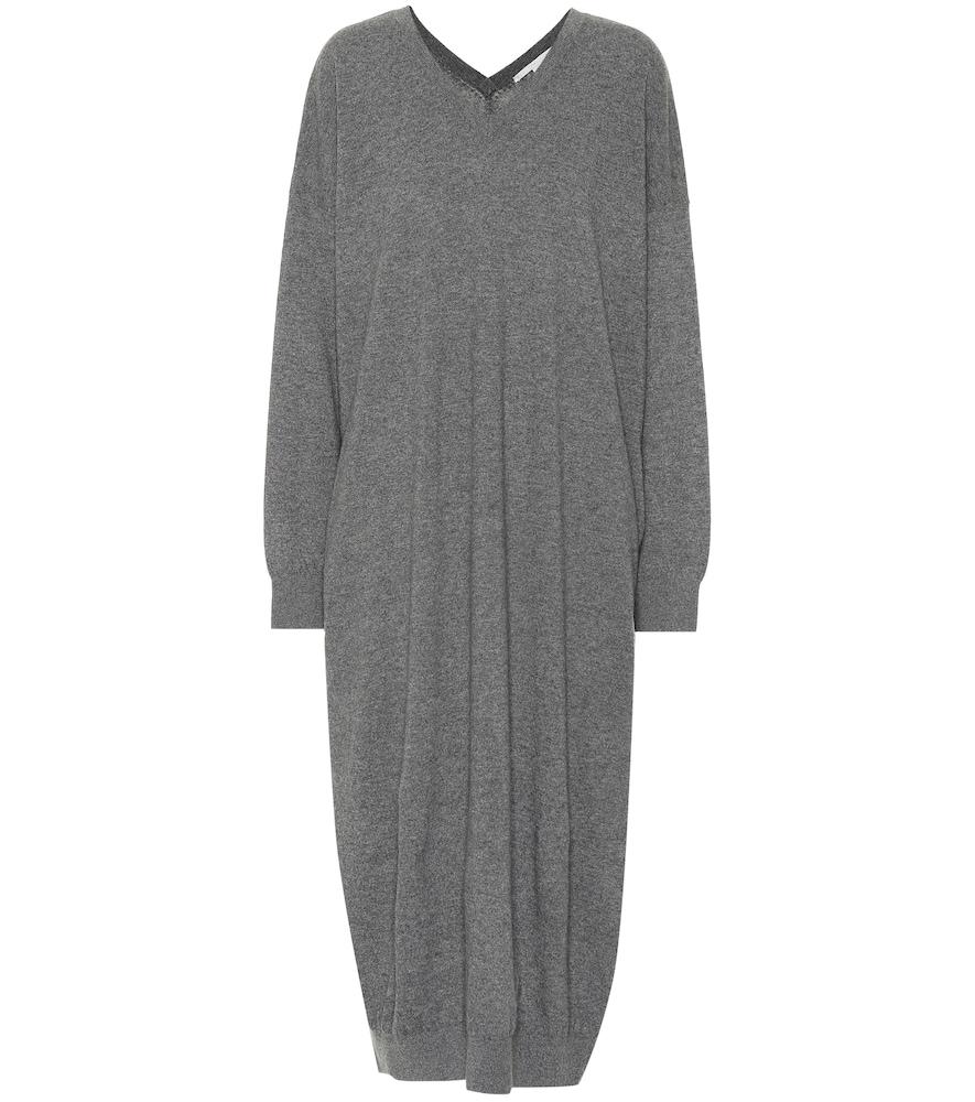 WOOL AND ALPACA SWEATER DRESS