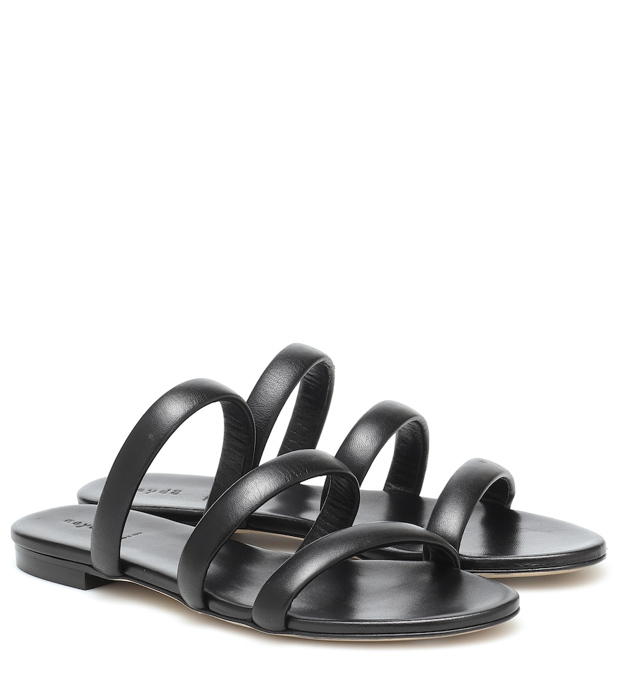 Aeyde CHRISSY LEATHER SANDALS