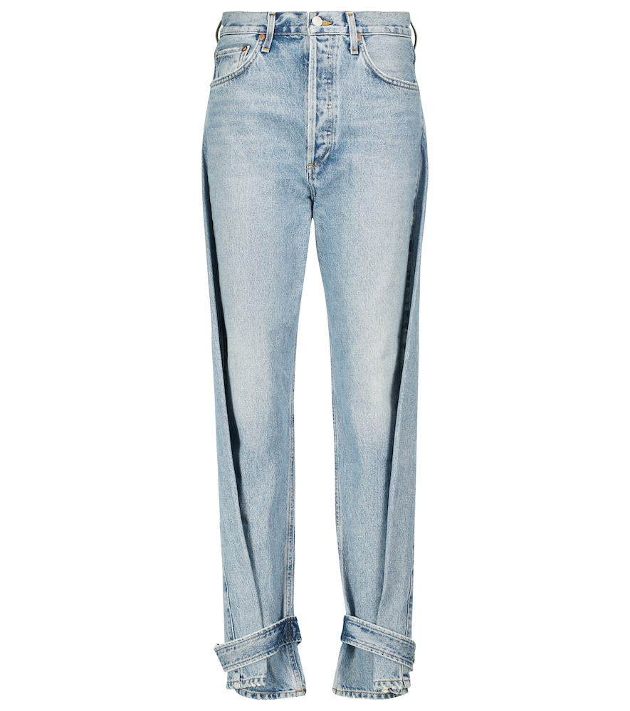 Cleo high-rise tapered jeans