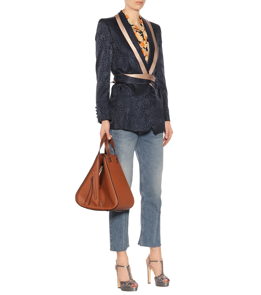 Exclusive to Mytheresa - Silk jacquard blazer by Blazé Milano