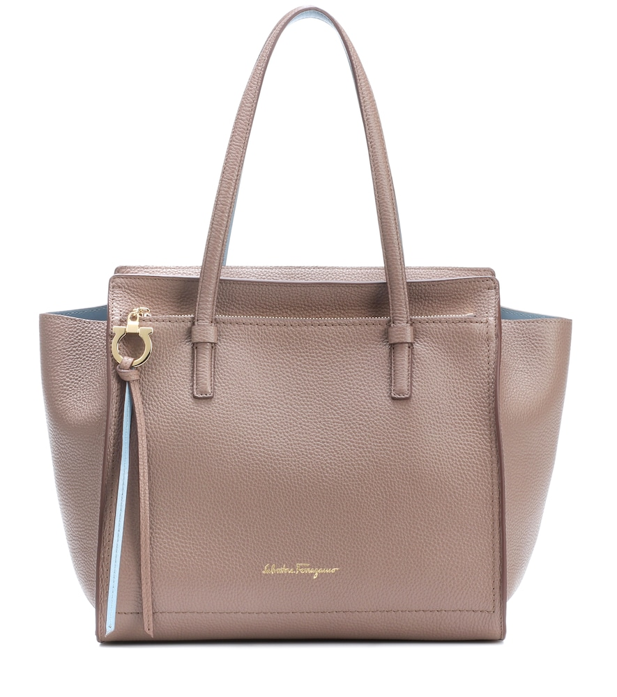 MEDIUM AMY LEATHER SHOPPER