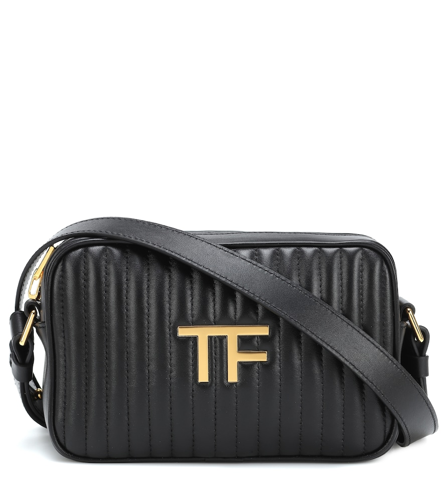 TF quilted leather camera bag