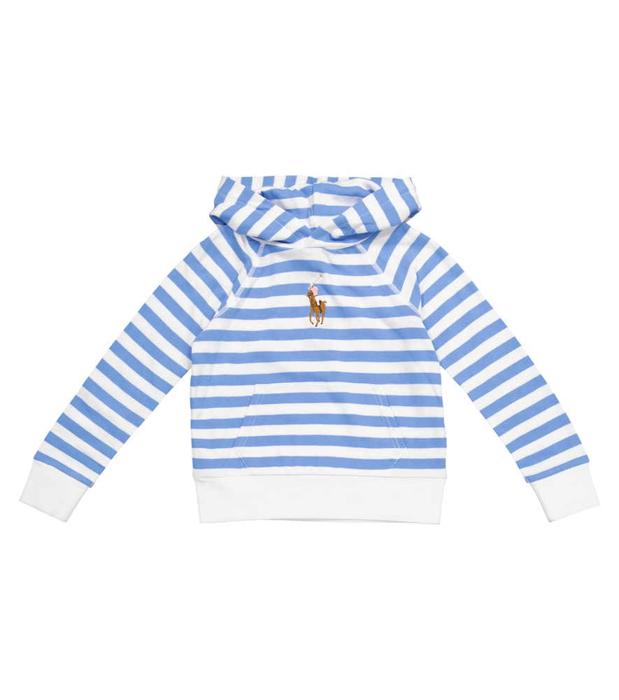 Polo Ralph Lauren STRIPED COTTON HOODIE