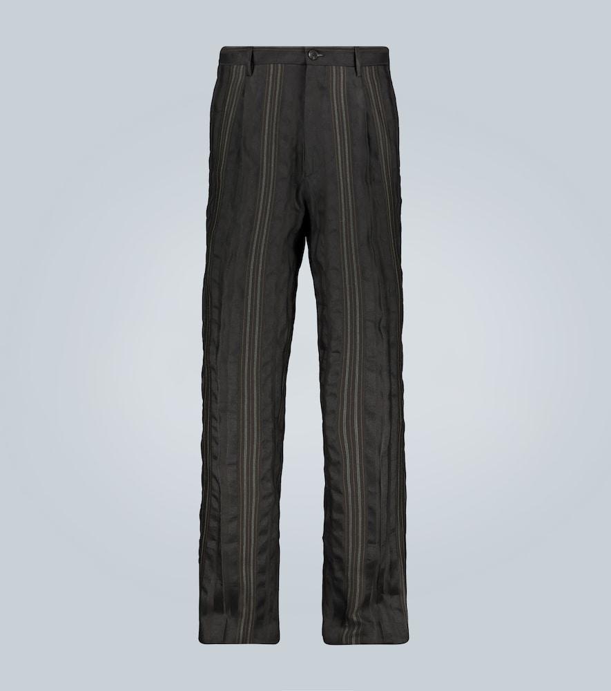 Pantalon en laine et lin mélangés - Etro - Modalova