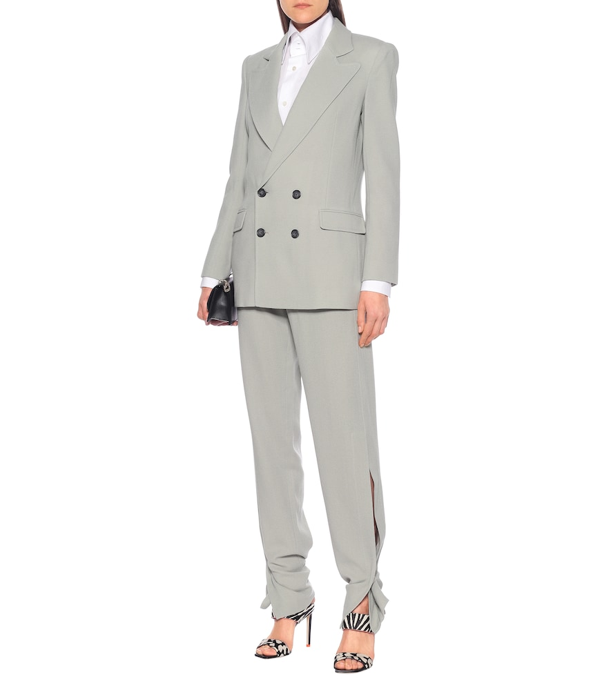 Gilroy double-breasted wool blazer by Roland Mouret