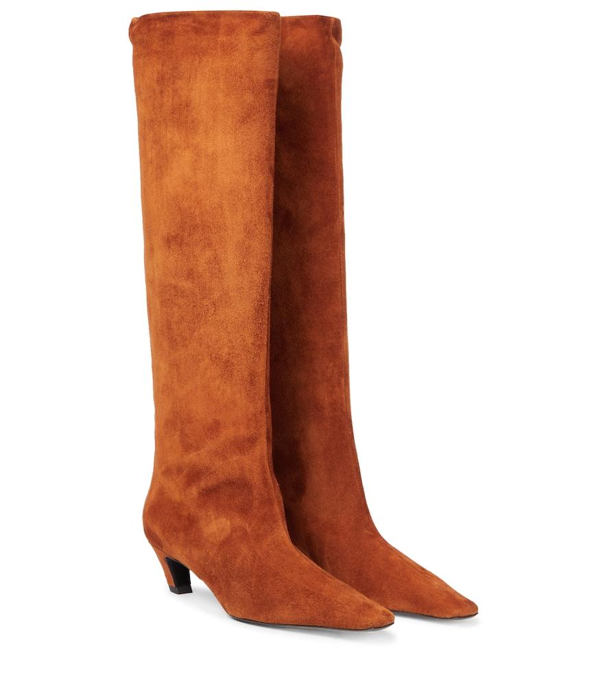Davis suede knee-high boots