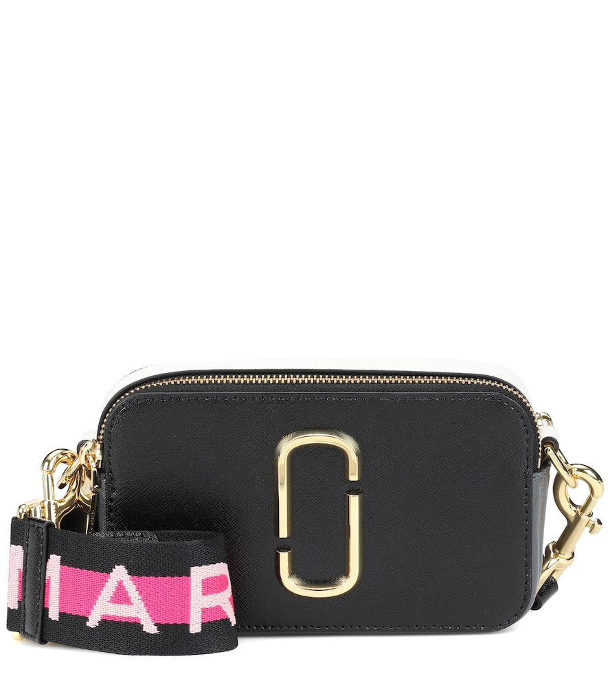 Marc Jacobs Ladies Black Snapshot Saffiano Leather Cross-Body Bag ... d98ef8a4dceee
