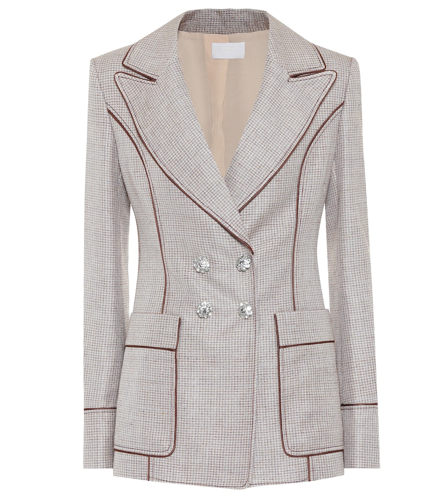 Peter Pilotto Blazers EMBELLISHED DOUBLE-BREASTED BLAZER