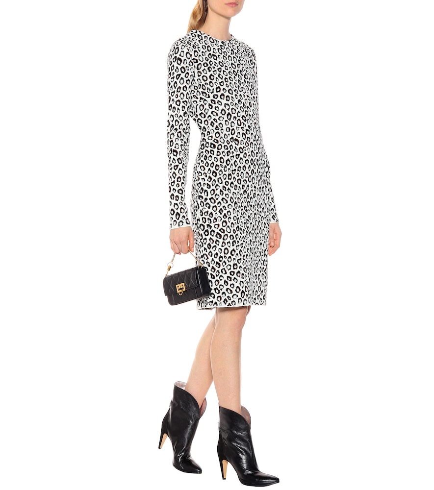 Photo of Jacquard midi dress by Givenchy - shop Givenchy Dresses, Short online