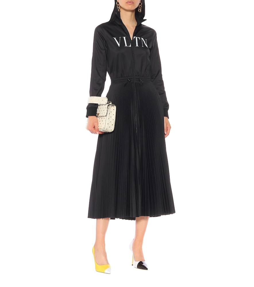 VLTN jersey maxi dress by Valentino