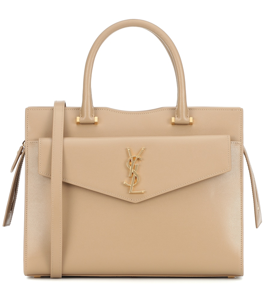 Sac Uptown Medium en cuir - Saint Laurent - Modalova