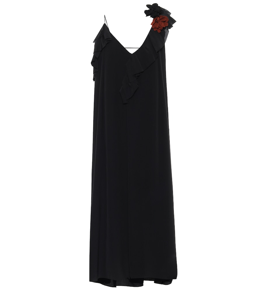 Silk cr?e de chine dress by Victoria Beckham