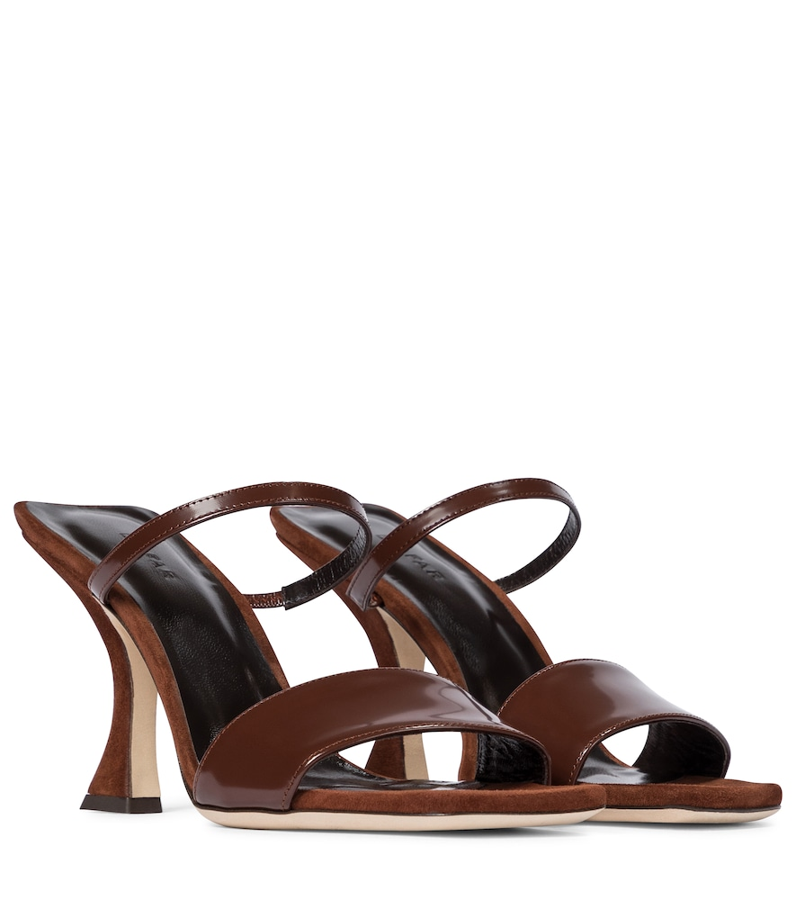 Nayla patent leather sandals