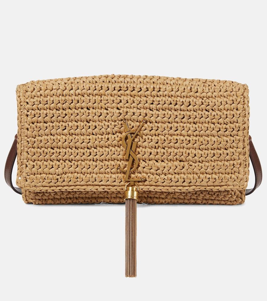 Kate 99 raffia shoulder bag
