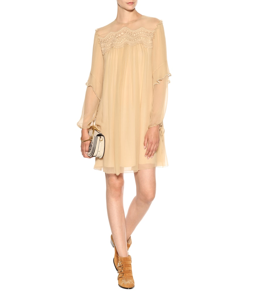 Exclusive to Mytheresa - Silk dress by Chloé